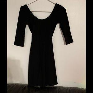 Black hollister cocktail dress